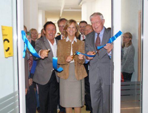 Einweihungsfeier des Erweiterungsbaus der inklusiven Montessori-Schule der Aktion Sonnenschein